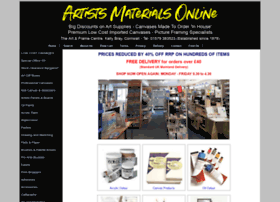 artistsmaterialsonline.co.uk
