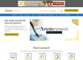 artistsnetworkvideos.thoughtindustries.com