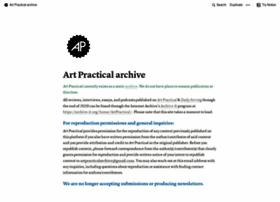 artpractical.com