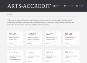 arts-accredit.org