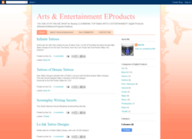 arts-entertainment-eproducts.blogspot.com