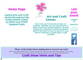 artsandcraftshows-usa.com