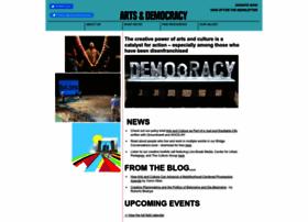 artsanddemocracy.org
