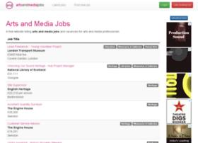 artsandmediajobs.com