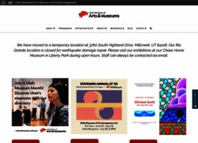 artsandmuseums.utah.gov