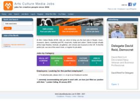 artsculturemediajobs.com