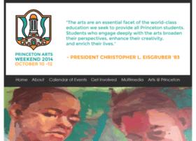 artsweekend.princeton.edu