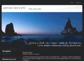 artur.hefczyc.net