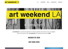 artweekendla.com