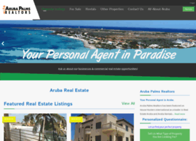 arubapalmsrealtors.com