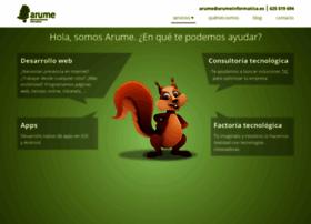 arumeinformatica.com