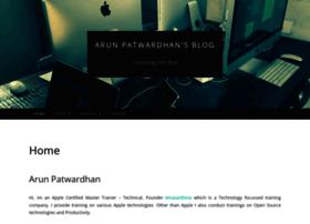 arunpatwardhan.com