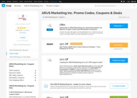 arusmarketinginc.bluepromocode.com