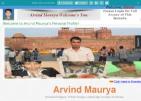 arvindmaurya.net