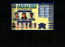 arwachininternationalschool.com