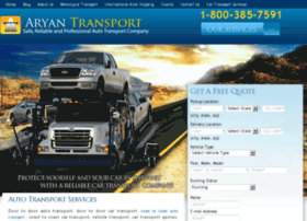 aryanautotransport.com