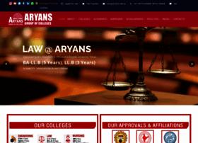 aryans.edu.in