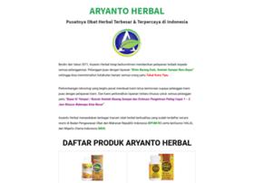 aryantoherbal.com