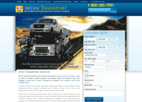 aryantransport.com