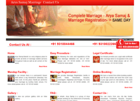 aryasamajmarriage.com