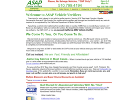 asapvehicleverifiers.com