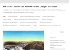 asbestosandmesotheliomalaw.com