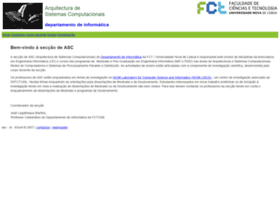 asc.di.fct.unl.pt