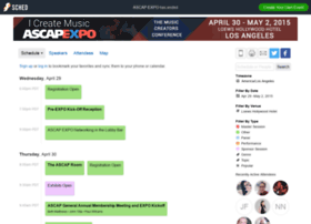 ascapexpo2015.sched.org