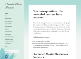 ascendedmasteranswers.com