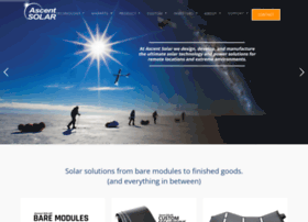 ascentsolar.com