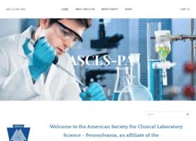 ascls-pa.org