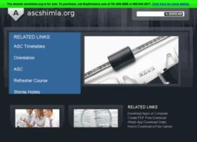 ascshimla.org