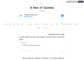 aseaofquotes.com