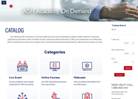 Ashacademy.org