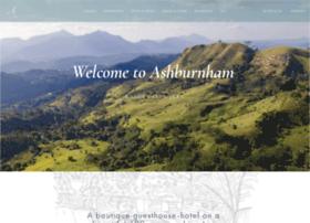 ashburnhamestate.com