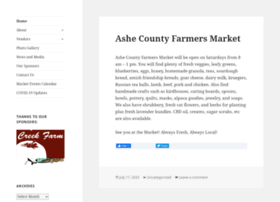 ashefarmersmarket.com