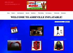 ashevilleinflatables.com