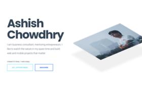 ashishchowdhury.com