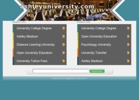 ashleyuniversity.com