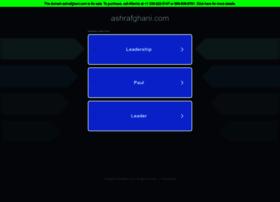 ashrafghani.com