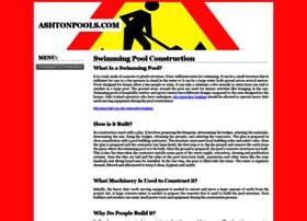ashtonpools.com