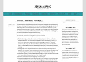 ashukorea.wordpress.com