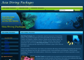 asia-diving-packages.com
