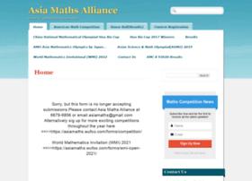 asiamathsalliance.com