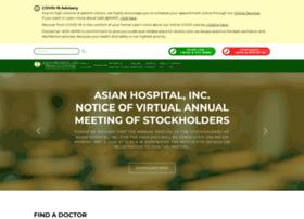 asianhospital.com