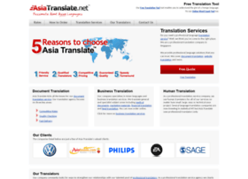 asiatranslate.net