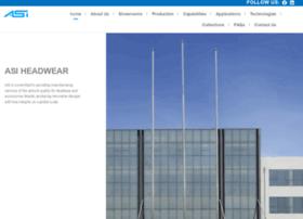 asiheadwear.com