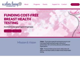 asilverliningfoundation.org