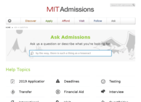 ask.mitadmissions.org