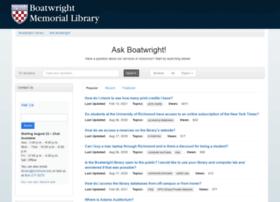 askboatwright.richmond.edu